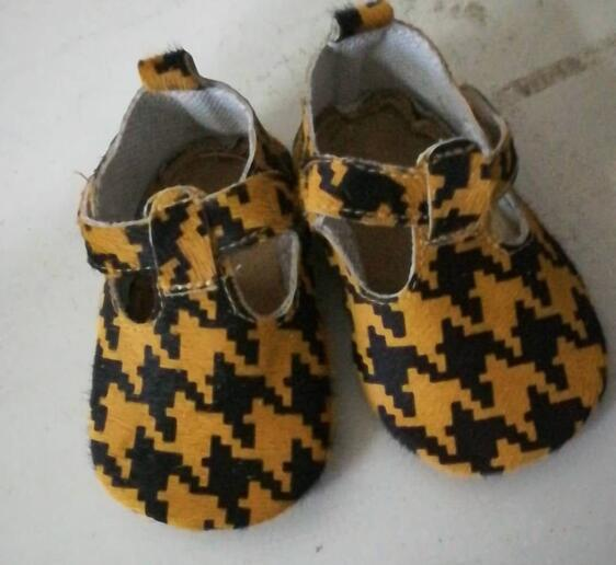 Customized Brands Genuine Leather Baby Shoes Leopard Print Girls Boys T- Bar Summer Baby Moccasins Wholesale 50pairs/lot