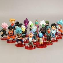 18Style Pvc Amine Figma Mini Dragon Ball Z GOKU Golden FRIEZA GREAT VEGETA Zamasu APE Vinyl Action Figure Collectible Model Toy