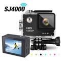 SJ4000 Wi-Fi Спорт Мини Фотоаппарат 1080 P Full HD Видеокамера мини-Камера Велосипед Видеокамера 30 М Дайвинг Перейти Водонепроницаемый Pro Cam DVR