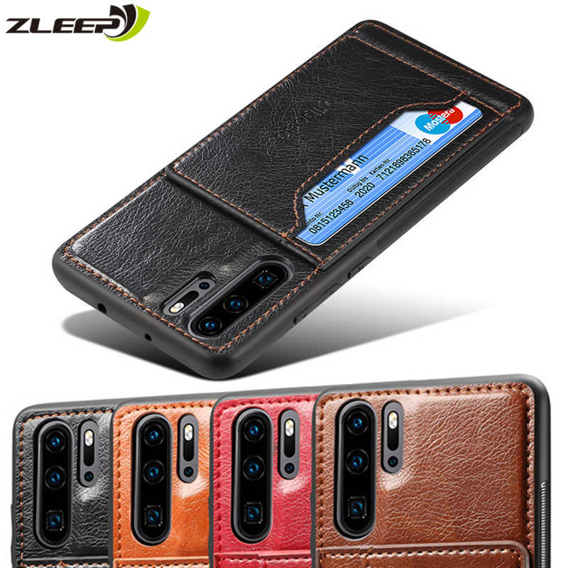 Leather Hawei P Smart Plus Y7 2019 Back Cover Case For Huawei P20 P30 Mate20 X Pro Lite Honor 10 20 V20 10i 10lite Nova 3 3i 4