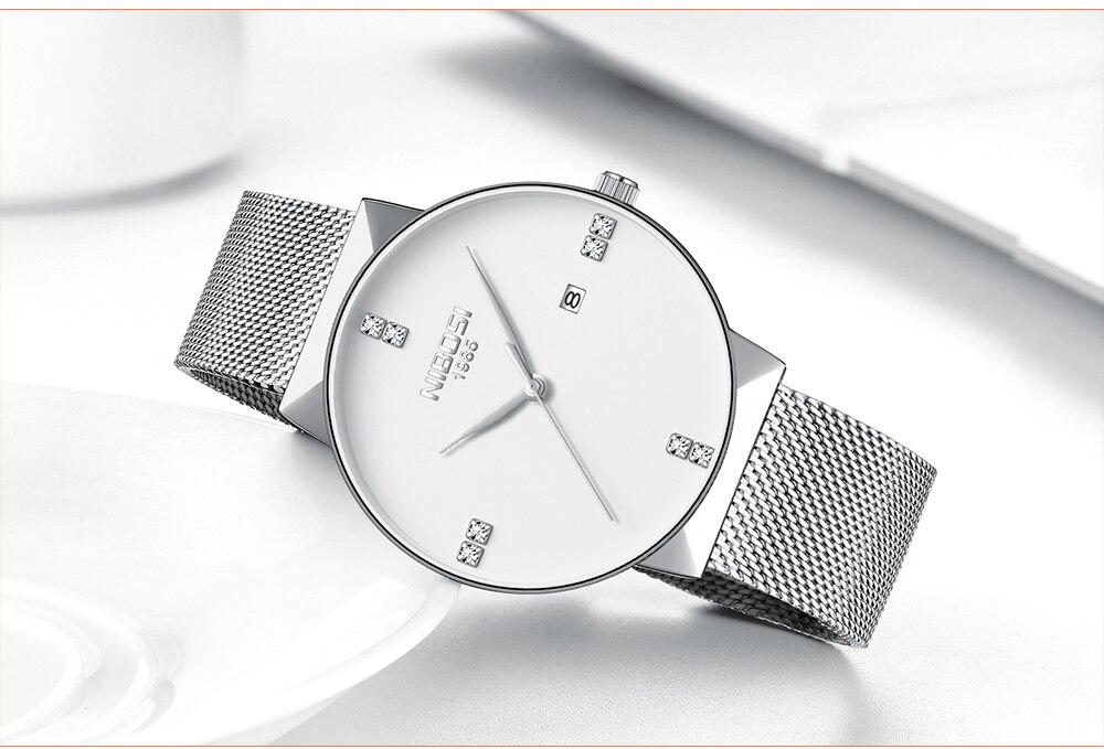 NIBOSI 2018 New Fashion Simple Watch Slim Mesh Band Mens Dress Watches Top Brand Luxury Male Relogio Masculino Quartz Wristwatch (23)