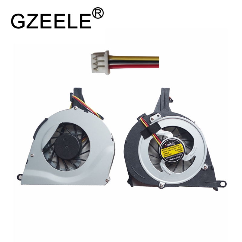 GZEELE cpu cooling fan for Toshiba Satellite L650 L650D L655 L655D L750 l755 Cooler Laptop Radiator Cooling Fan Free Shipping цена
