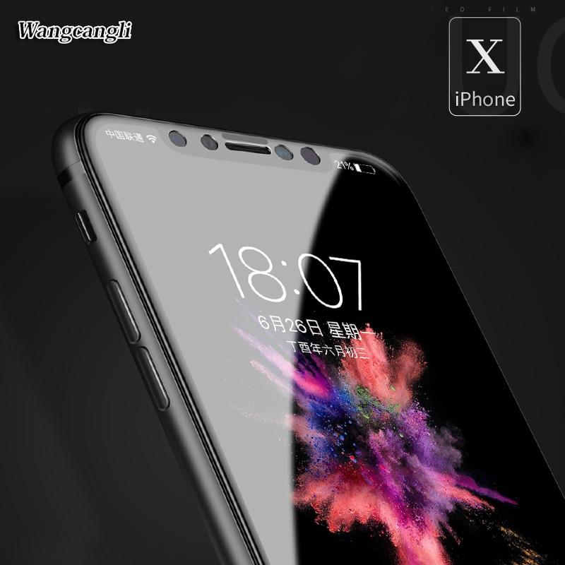 wangcangli Upscale Full täckning 3d Skyddsglas för iPhone 6 6s plus - Reservdelar och tillbehör för mobiltelefoner - Foto 5