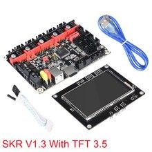 BIGTREETECH SKR V1.3 32 бит Motherboad с TFT 3,5 Сенсорный экран совместимый Smoothieboard плате контроллера для 3d принтер