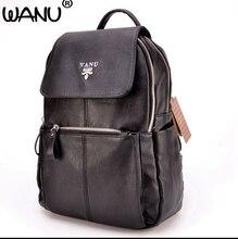 Wanu Для женщин модный бренд рюкзак женский кожаный деловая сумка большая женские рюкзаки рюкзак Mochila школьные сумки для девочек