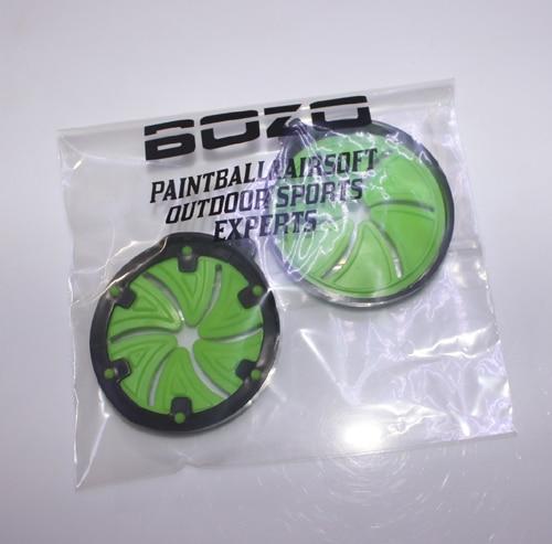 Accesorios de marcador de paintball Green Speed Feed (2 piezas) - Disparos - foto 6