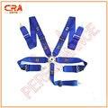 2016 Recién Llegado de TA 3 pulgadas 5 puntos de Liberación Rápida Azul Racing Cinturones de Seguridad/Cinturones de Seguridad/Arnés