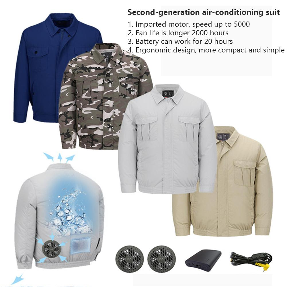 HobbyLane Outdoor Cooling Coat High Temperature Working Environment Overalls Air Conditioning Jackets