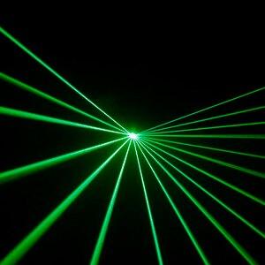 Image 2 - Professionnel DMX 100mW vert Laser scène éclairage Scanner Effcet barre de noël danse fête spectacle lumière DJ Disco Laser projecteur lumières