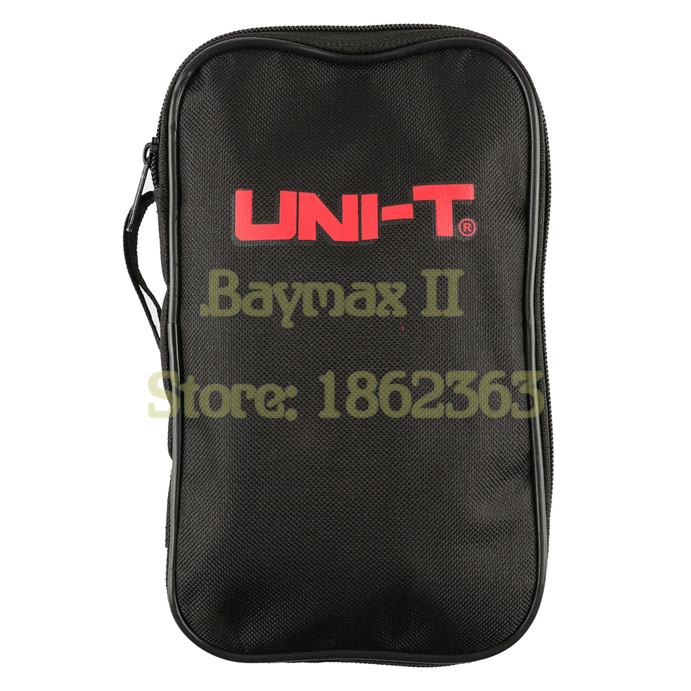 UNI T Black Canvas Bag for UNI T Series Digital Multimeter ,also Suit for The Other Brands Multimeter-in Instrument Parts & Accessories from Tools