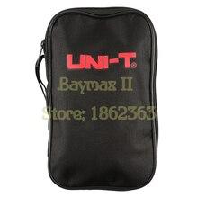 UNI T bolsa de lona negra para multímetro Digital de la serie UNI T, también apto para el multímetro de otras marcas