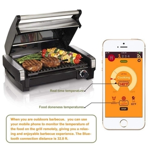 Image 4 - Умный беспроводной термометр для мяса, прибор для приготовления мяса, для духовки, гриля, барбекю, гриля, с Bluetooth и Wi Fi подключением