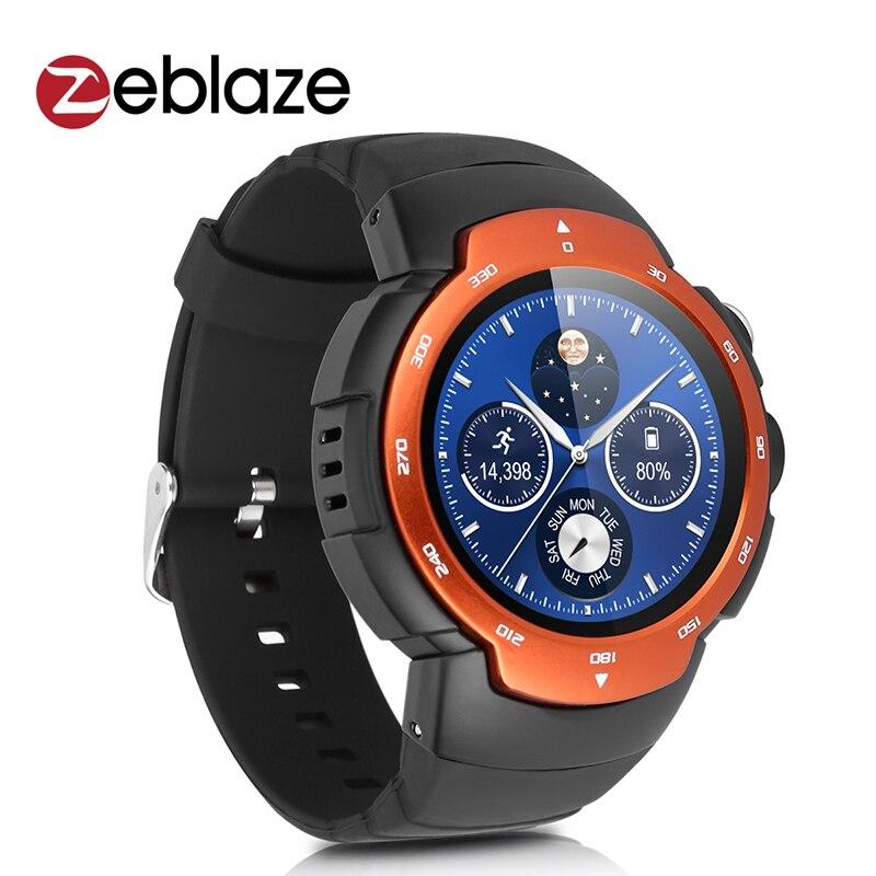 imágenes para Smartwatch Zeblaze Blitz 3G Android 5.1 Teléfono MTK6580 Cámara Del Reloj WCDMA GSM WIFI GPS Del Ritmo Cardíaco Del Reloj Inteligente con el Correo Electrónico Monitor