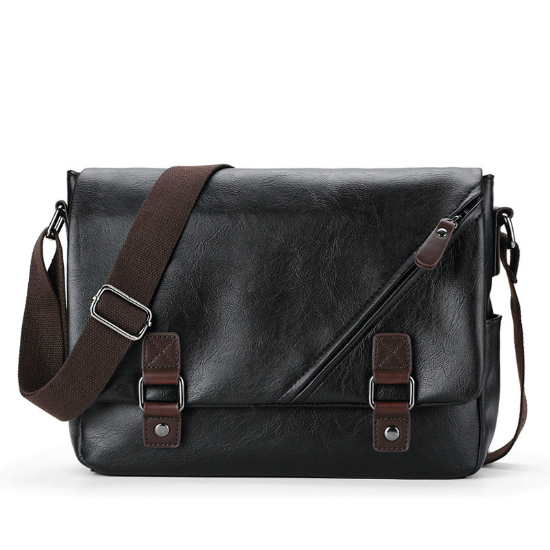 Flap Design Men Travel Bags PU Leather Messenger Bag For Fashion High Quality Cross Body Shoulder Bags SmallFlap Design Men Travel Bags PU Leather Messenger Bag For Fashion High Quality Cross Body Shoulder Bags Small
