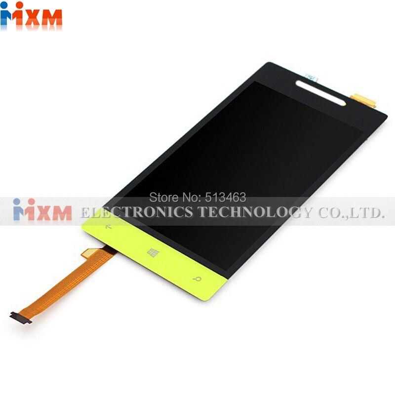 Completo Pantalla LCD de Pantalla Táctil con la Asamblea Del Digitizador para HT