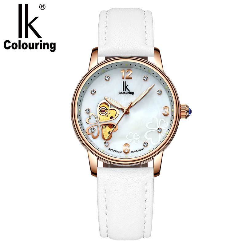 Women Watch Luxury Fashion Colouring Ladies Diamond Luminous Watch Hollow Automatic Mechanical WatchesWomen Watch Luxury Fashion Colouring Ladies Diamond Luminous Watch Hollow Automatic Mechanical Watches