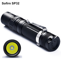 Sofirn SP32 Mini Led Flashlight 18650 Lanterna Tatica LED CREE XPL2 LED Flashlight 5 Modes Portable