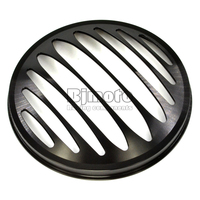7 Motorcycle Black CNC Aluminum Metal Round Headlight Grill Cover For Harley Sportster XL 883 1200