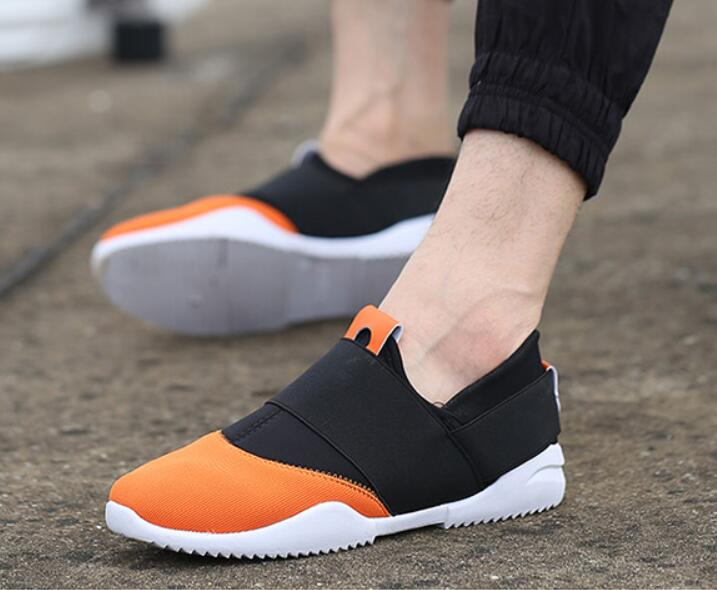 Brand mens shoes outdoor leisure network cloth coconut shoes Breathable Lazy Fashion Wear Comfortable Shoes 2018