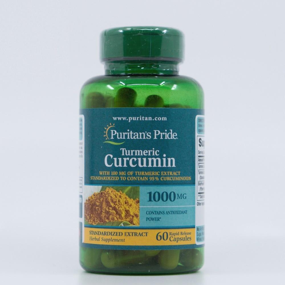 Turmeric Curcumin 1000 mg turmeric extract standardized to contain 95 % curcuminoids 60 pcsTurmeric Curcumin 1000 mg turmeric extract standardized to contain 95 % curcuminoids 60 pcs