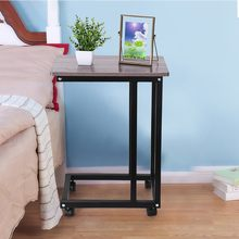 tea table side end table for office coffee table magazine shelf small table movable living room bedroom furniture Multifunction(China)
