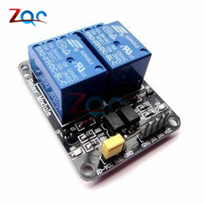 1 個 5V 2 チャンネルリレーモジュールシールド Arduino の Arm Pic AVR DSP 電子 5V 10A 2 チャンネルリレーモジュール