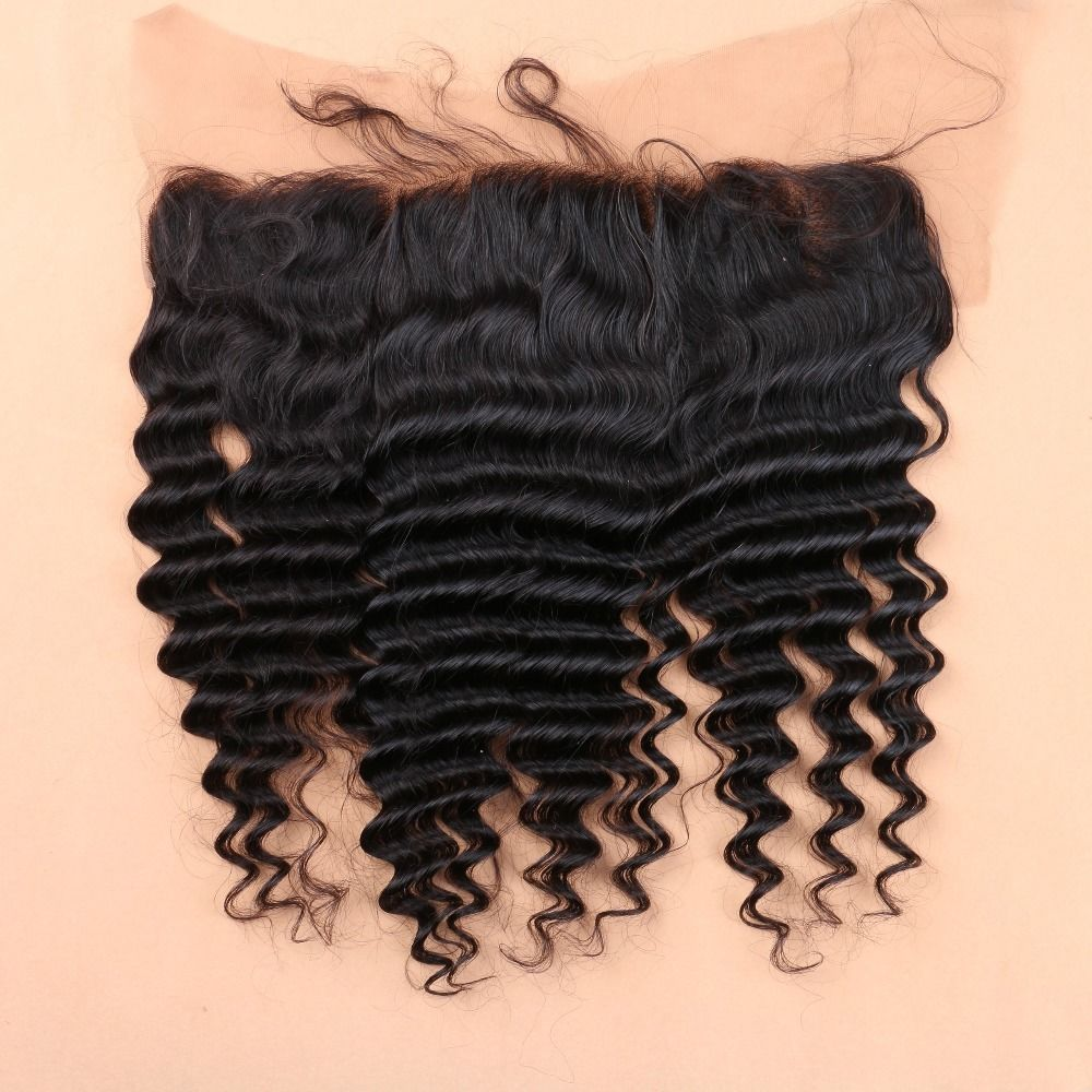13x4 lace frontal closure brazilian curly hair lace
