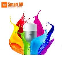 XiaoMi Lámpara Colorida Yeelight Mi Casa Inteligente APP WIFI b/g/n de Control Remoto Inteligente de Luz LED RGB cambiable del Color de la Iluminación Ambiental