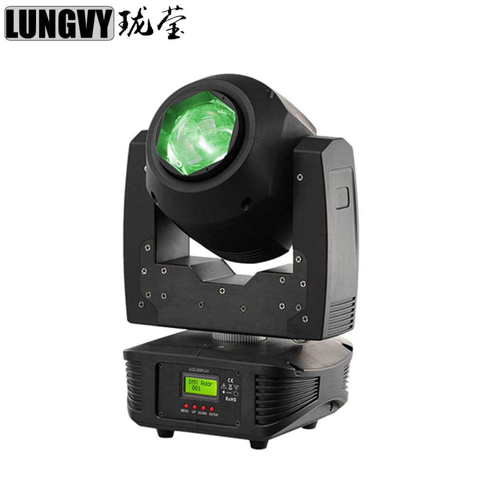 Free Shipping 60W RGBW 4IN1 Led Beam Moving Head Light 13 / 16 DMX512 Channel for Stage DJ Bar Disco Party Nightclub