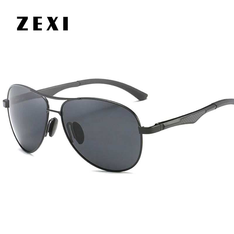 ZEXI Polarized Men Sunglasses HD Vision Night Driving Glasses Day ...