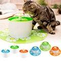 Автоматический водный фонтан для кошек 1 6л  Электрический фонтан для собак  кошек  домашних животных  миска для питья кошек  диспенсер для фо...