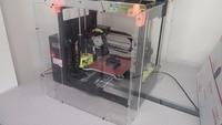 3d printer frame for LULZBOT MINI arcrylic SAFETY ENCLOSURE KIT not including 3d printer