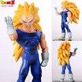 16 cm Goku Vegeta Figura de Dragon Ball Z Super Saiyan Vegeta Son Goku En Caja PVC Anime Figuras de Acción Modelo Colección de Muñecas # D