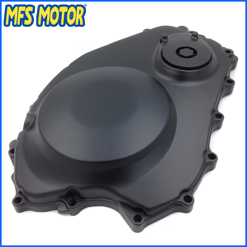 Freeshipping Motorcycle Right Engine Clutch cover For Honda CBR1000RR 2004 2005 2006 2007 Black new aluminum engine clutch cover crankcase right for 04 07 cbr 1000 rr [mt195]