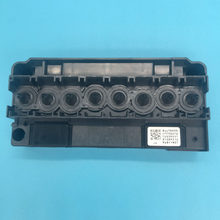 100% Asli Dx5 Pelarut Penutup Kepala F186000 Printhead Manifold Print Head Adaptor untuk Mutoh Mimaki Allwin Galaxy Printer Cover(China)