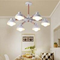 Modern Nordic Wood LED Ceiling Light 110V 220V Black White Wooden Iron Ceiling Lamp For Bedroom