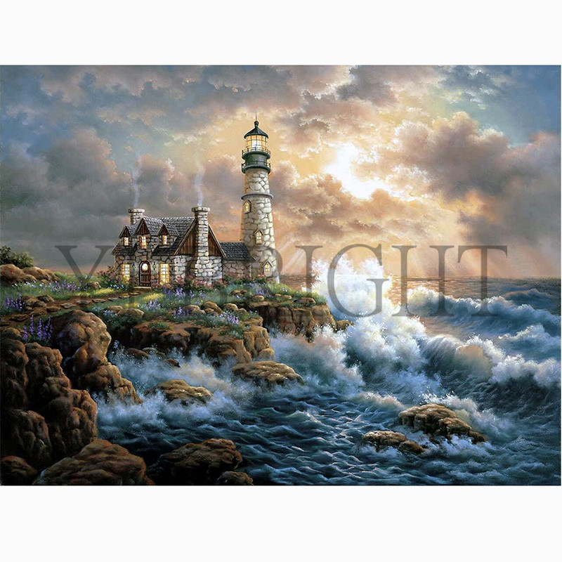 5D DIY Full Square Diamond Painting Cross Stitch