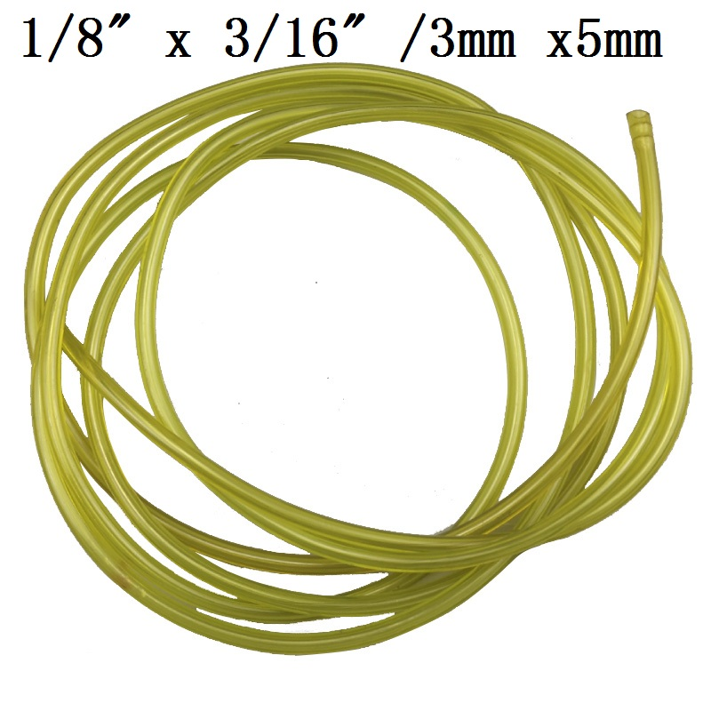 2M Nylon String Trimmer Rope Line 3X5MM Petrol Fuel Tube Diesel Oil Line Pipeline Hose Gas Pipe For Garden Lawn Mower Tools