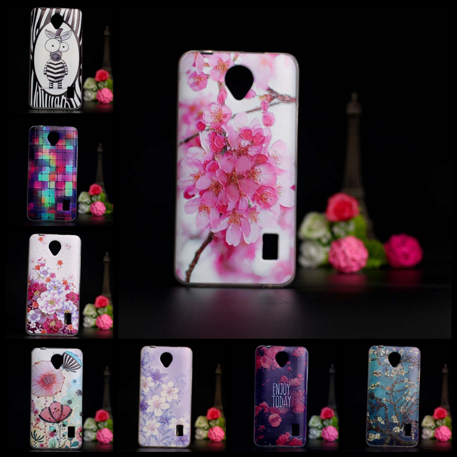 Perfect Cute Painting Pattern TPU Soft Silicone Case For Huawei Y635 Case Back Cover For Huawei Y635-CL00/Y635-TL00 3D Cover