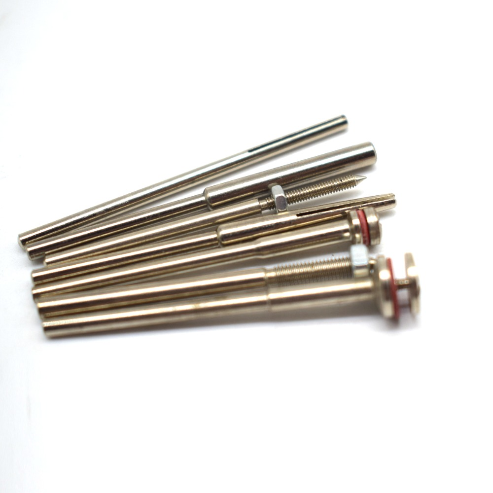 joyas 2.35mm Mandril Dremel Colgante De Cerda De Acero Pulido Taza paquete de 5