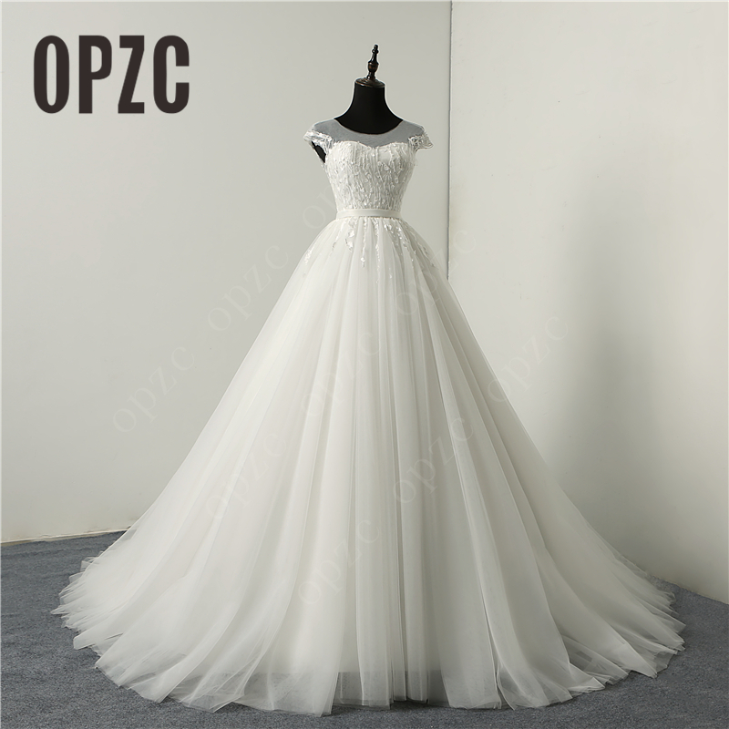 fashion sexy backlless New Arrival Beach Wedding Dresses vestido de noiva In Stock Plus Size Tulle Wedding Gowns Bridal Dress