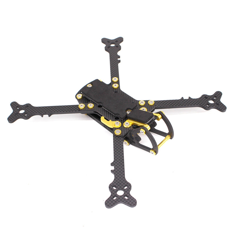PUDA 250 250mm 5 Inch Carbon Fiber FPV Freestyle 4mm Arm Frame Kit For DALPROP 5045 RC Models Multicopter Motor ESC Part Accs exuav fs230 230mm 5 inch 5mm arm thickness 3k carbon fiber frame kit for rc models multicopter motor camera spare part accs
