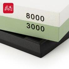 TAIDEA Double-sided white corundum Stone 3000#/8000#Grit Knife sharpener corundum sharpening stone