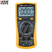 ВИКТОР VC890C + Цифровой Мультиметр True RMS Мультиметр 2000 МКФ Конденсатор Измерение Температуры Профессиональный