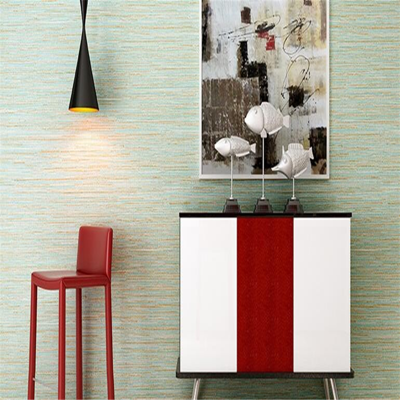 Beibehang modern solid color 3D wallpaper of the sitting room  bedroom wallpaper family decorates wallpaper Striped 3D wallpaper beibehang wallpaper modern sitting room
