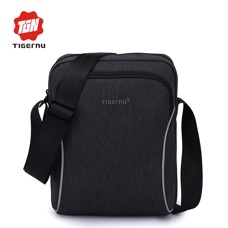 2017 Tigernu brand Casual business men splashproof messenger bag mini ipad bags crossboody bag Shoulder Bags for women