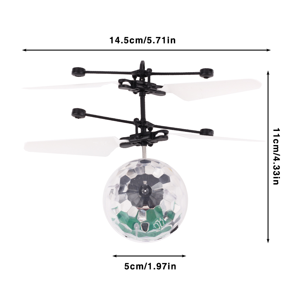 VICIVIYA RC Toy EpochAir RC Flying Ball RC Drone 4