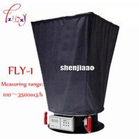 Exaustor de ar eletrônico FLY-1 medidor De volume de Ar 100-3500 m3/h (passo)