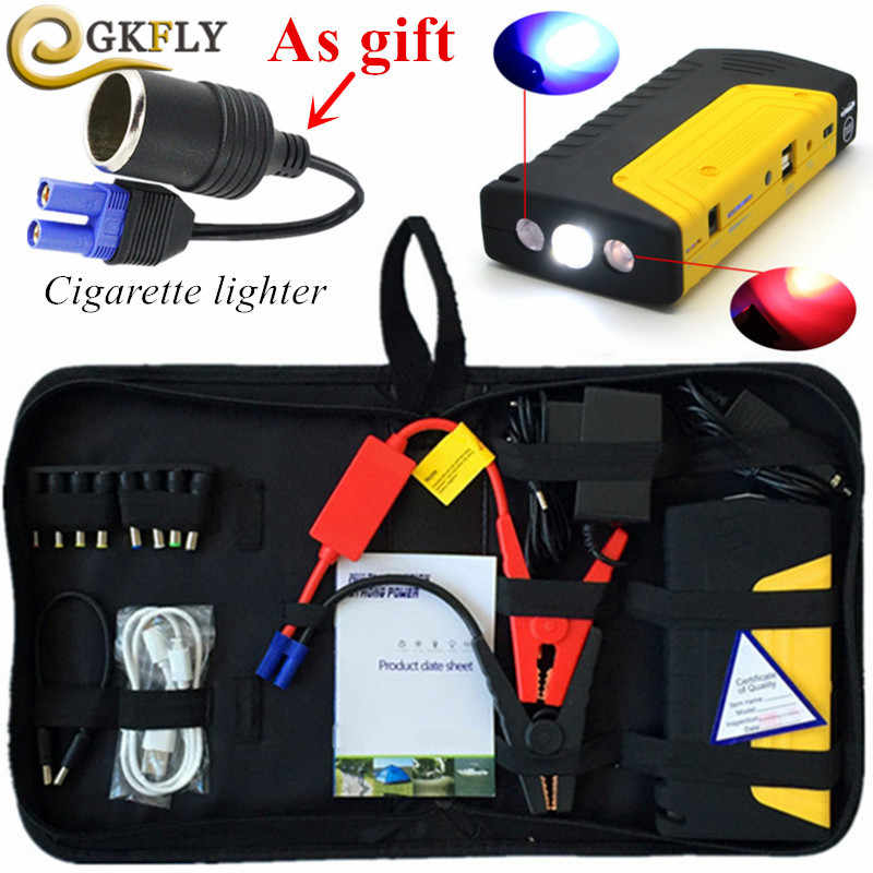Mini Emergency Car Jump Starter 12V 600A Portable Power Bank Car Charger for Car Battery Booster Voiture Auto Starting Device