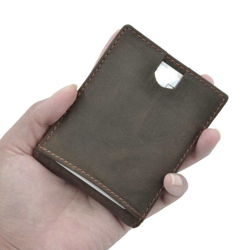 com pull-up cartão de armazenamento billfold braçadeira